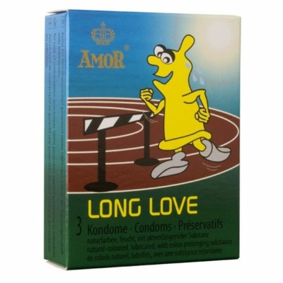 AMOR Long Love Késleltető Óvszer